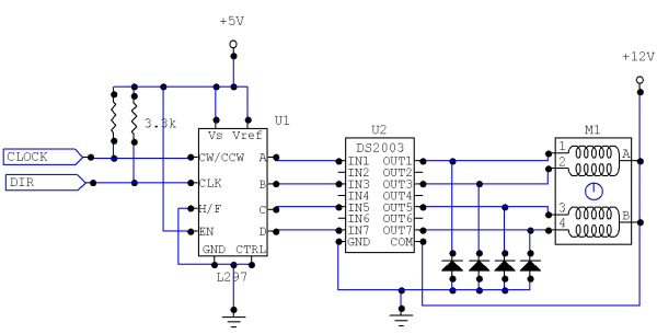 Unipolar stepper schematic wiring diagram library kohler wiring diagram manual unipolar stepper motor driver circuit northwestern mechatronics wiki binary bipolar stepper motor circuit unipolar stepper schematic