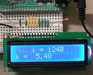 NU32: 16x2 LCD - Northwestern Mechatronics Wiki