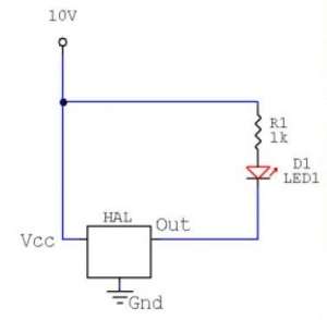 Hall Effect Sensor - Northwestern Mechatronics Wiki on