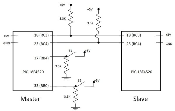 I2c Circuit Diagram - Schema Wiring Diagram